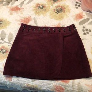 BCBD MaxAzria Maroon skirt size Medium